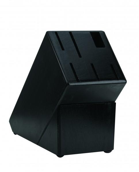 Holzblock schwarz