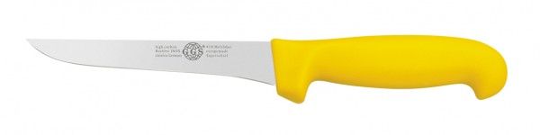 """Messer gelb 6"""" Ausbein"""