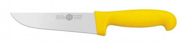 """Messer gelb 6"""" breit"""