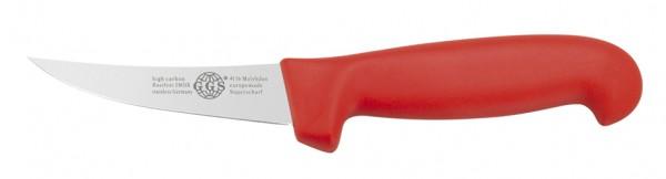 """Messer rot 4"""" semi-flex"""